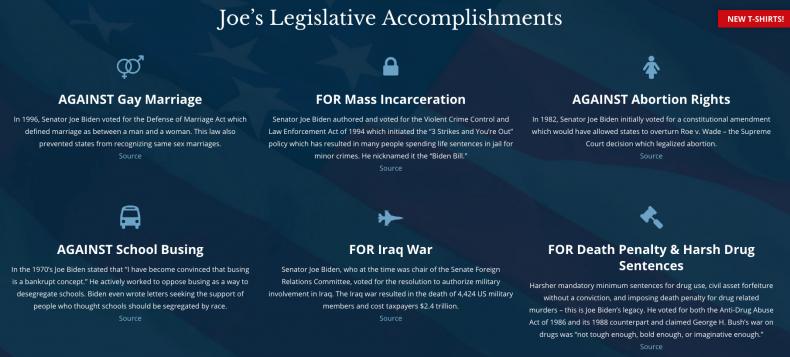 Joe Biden Fake Website Mauldin