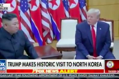 Trump Kim Jong Un Tucker Carlson