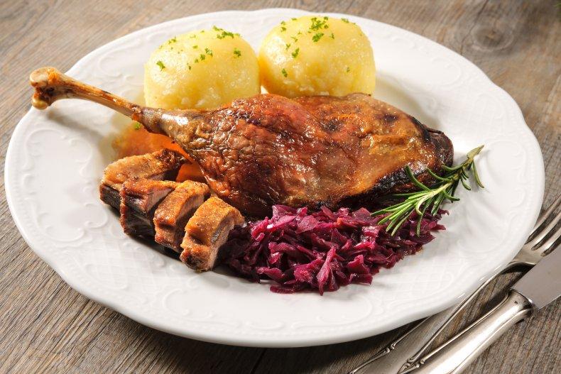 goose dead meal