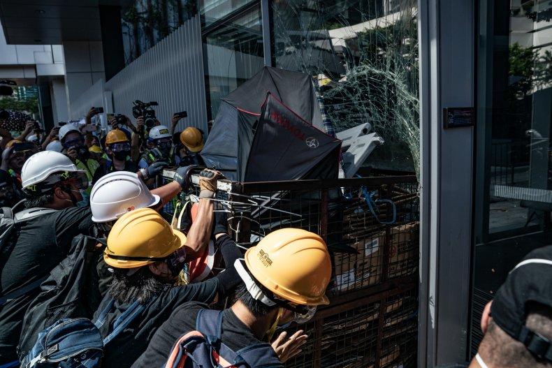 Hong Kong, China, protests, pro-democracy