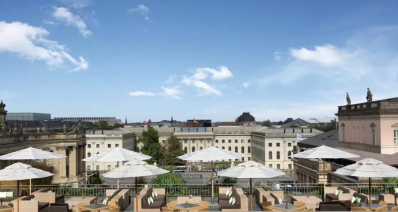 Hotel de Rome Rooftop Terrace