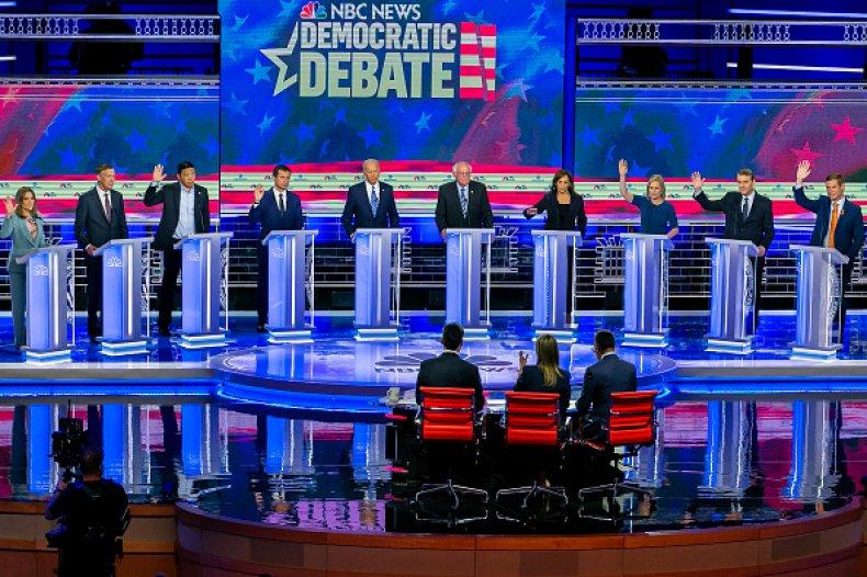 democratic debates night two panorama