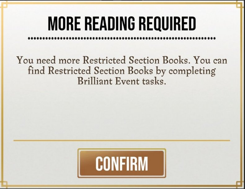 how to get green books restricted section books in harry potter wizards unite when is brilliant event profession skill tree professor
