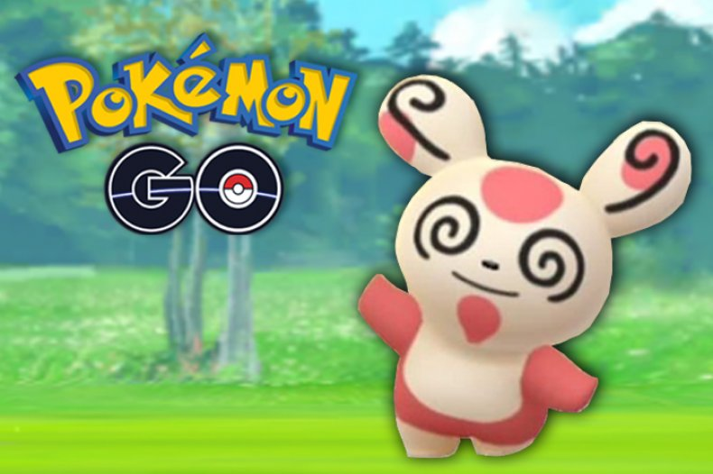 pokemon go shiny spinda research task update