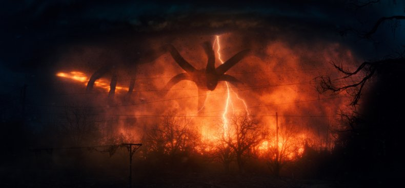 The Mind Flayer, 'Stranger Things'