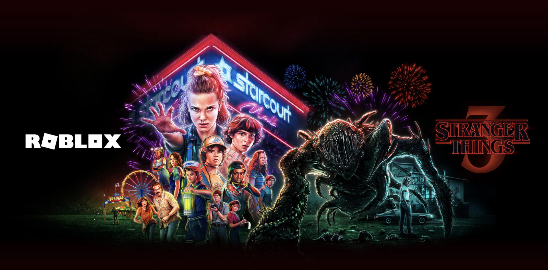 Roblox Stranger Things Event Promo Codes Get Rats Mall Outfit