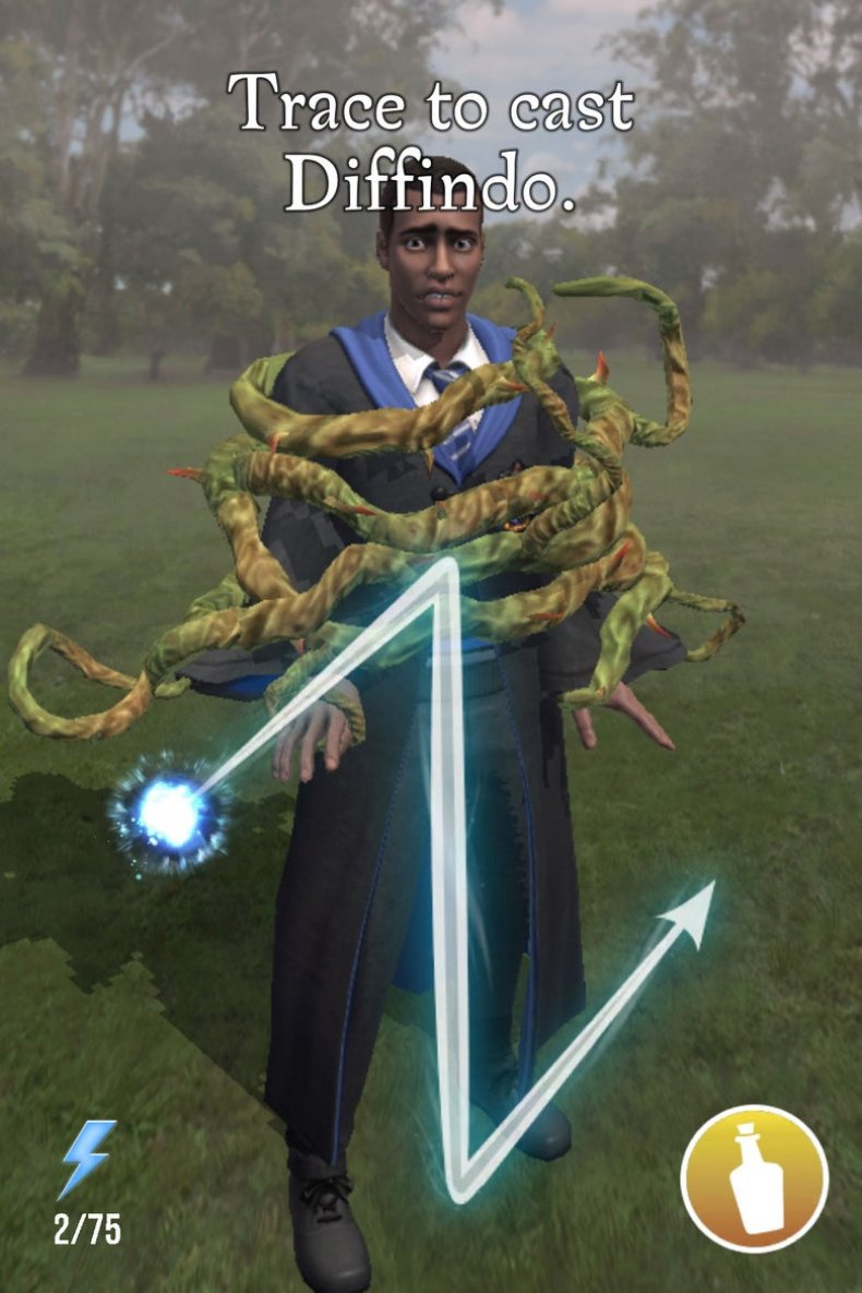 Harry Potter wizards unite problems animations foundable resist rate depart