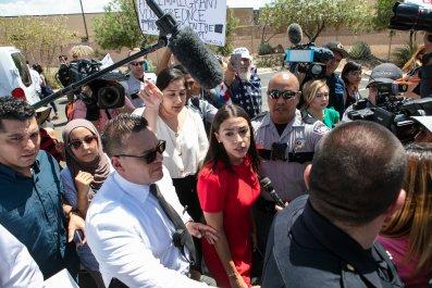 Alexandria Ocasio-Cortez Texas CBP border patrol