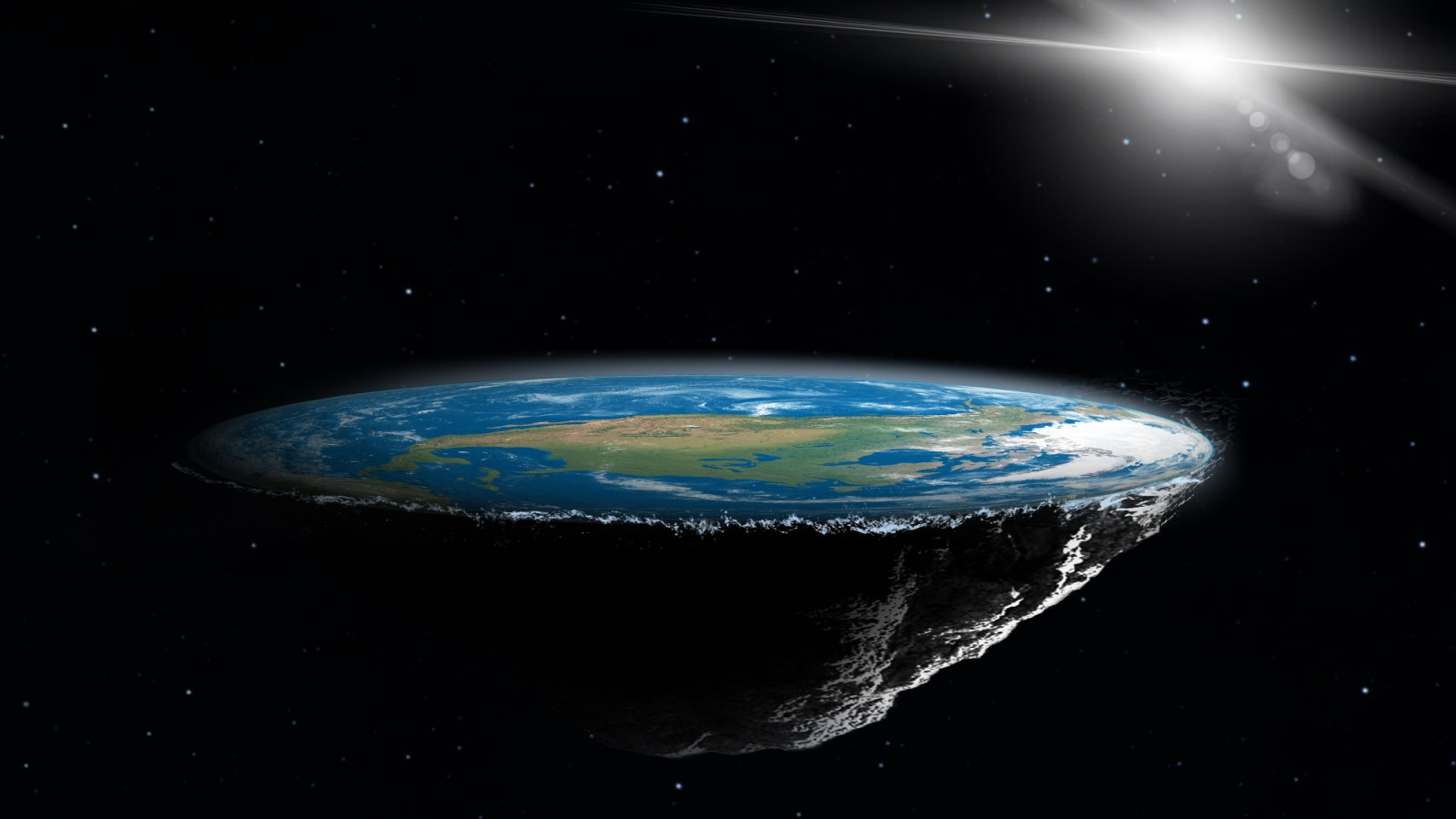 Flat Earth FC President Takes on the Doubters: 'If the Earth