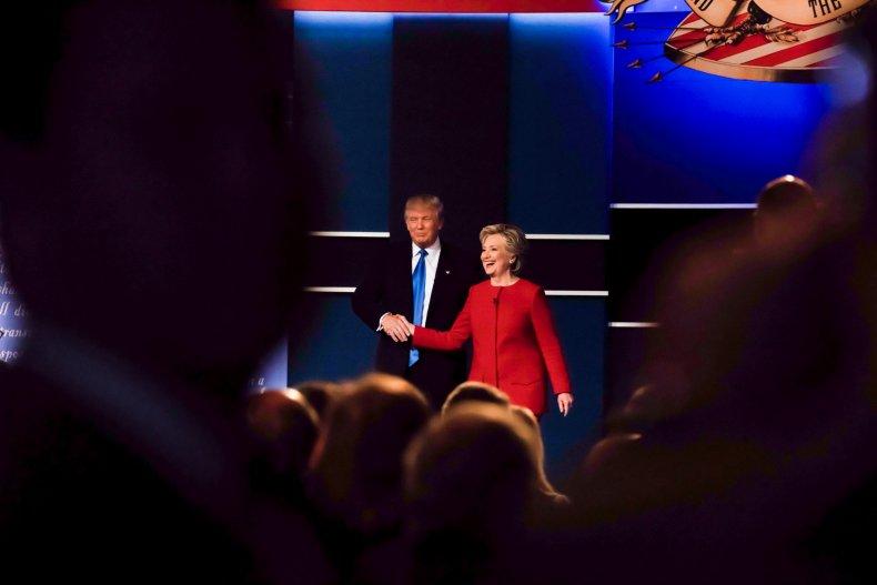 Trump falsely claims he won 2016 debates