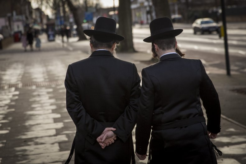 Anti-Semitism hate crime London knife