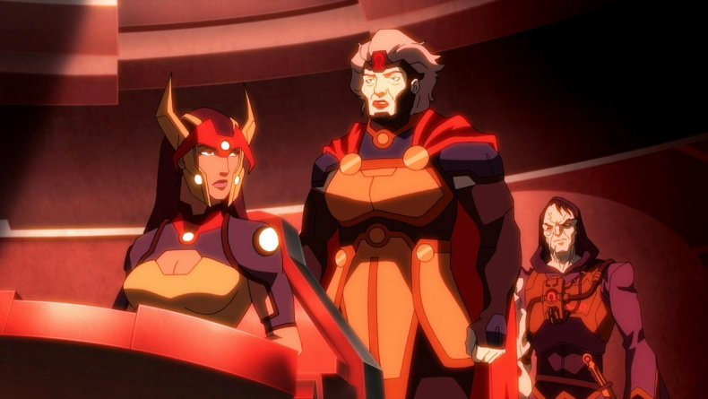 young justice outsiders barda granny goodness spoilers