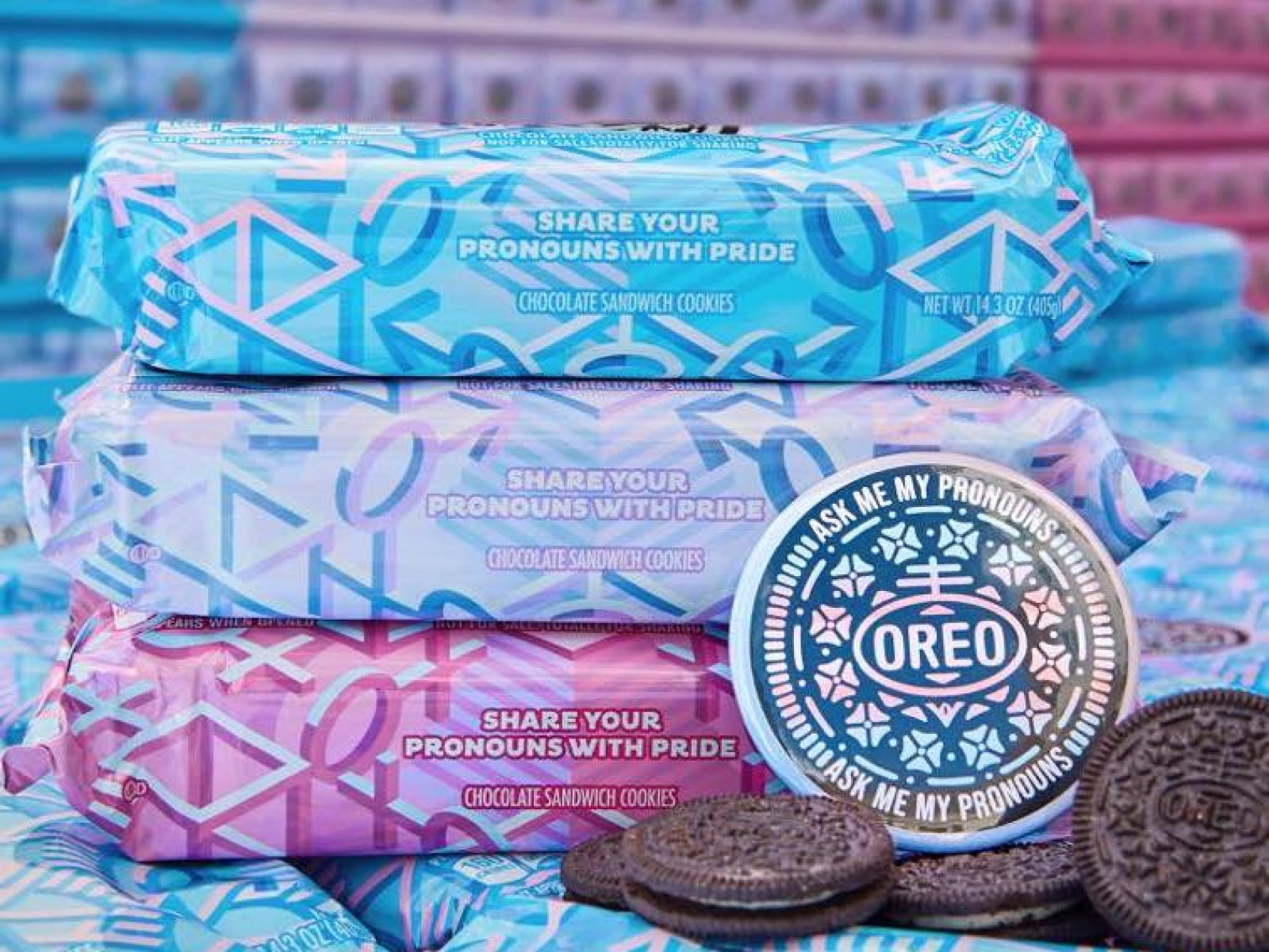 Conservatives Attack Wrong Group for Oreo's LGBT-Inclusive 'Pronoun Packs'