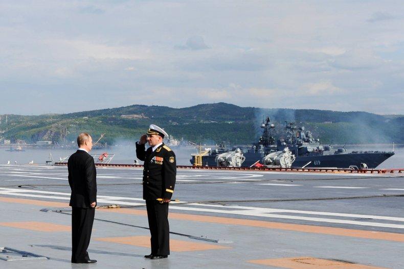russia navy putin Severomorsk