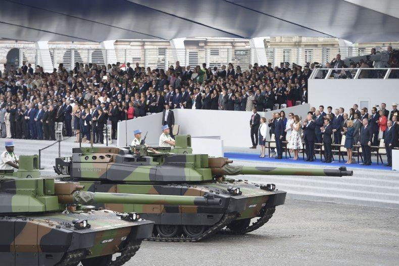 Trump July 4 Parade Military