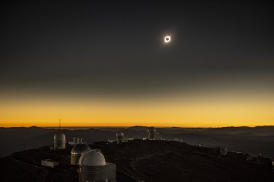 chile, total solar eclipse