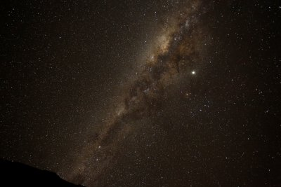 Chile, total solar eclipse, milky way