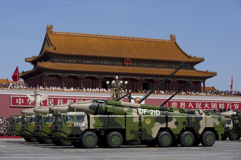 China, US, South China Sea, missiles, test