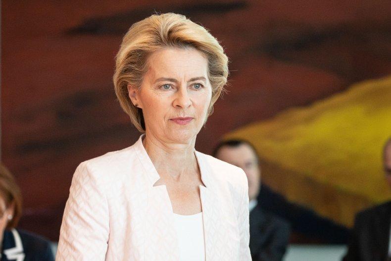 Ursula von der Leyen EU Commission Trump