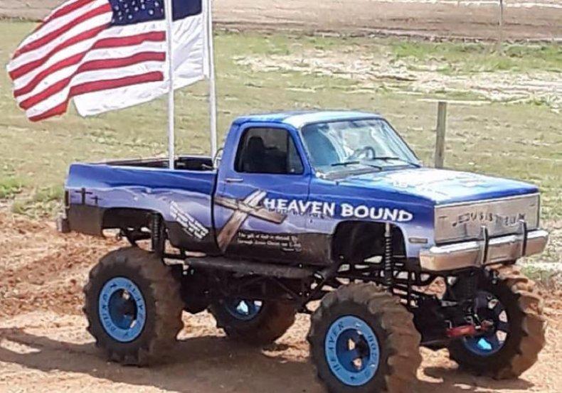 monster truck for jesus