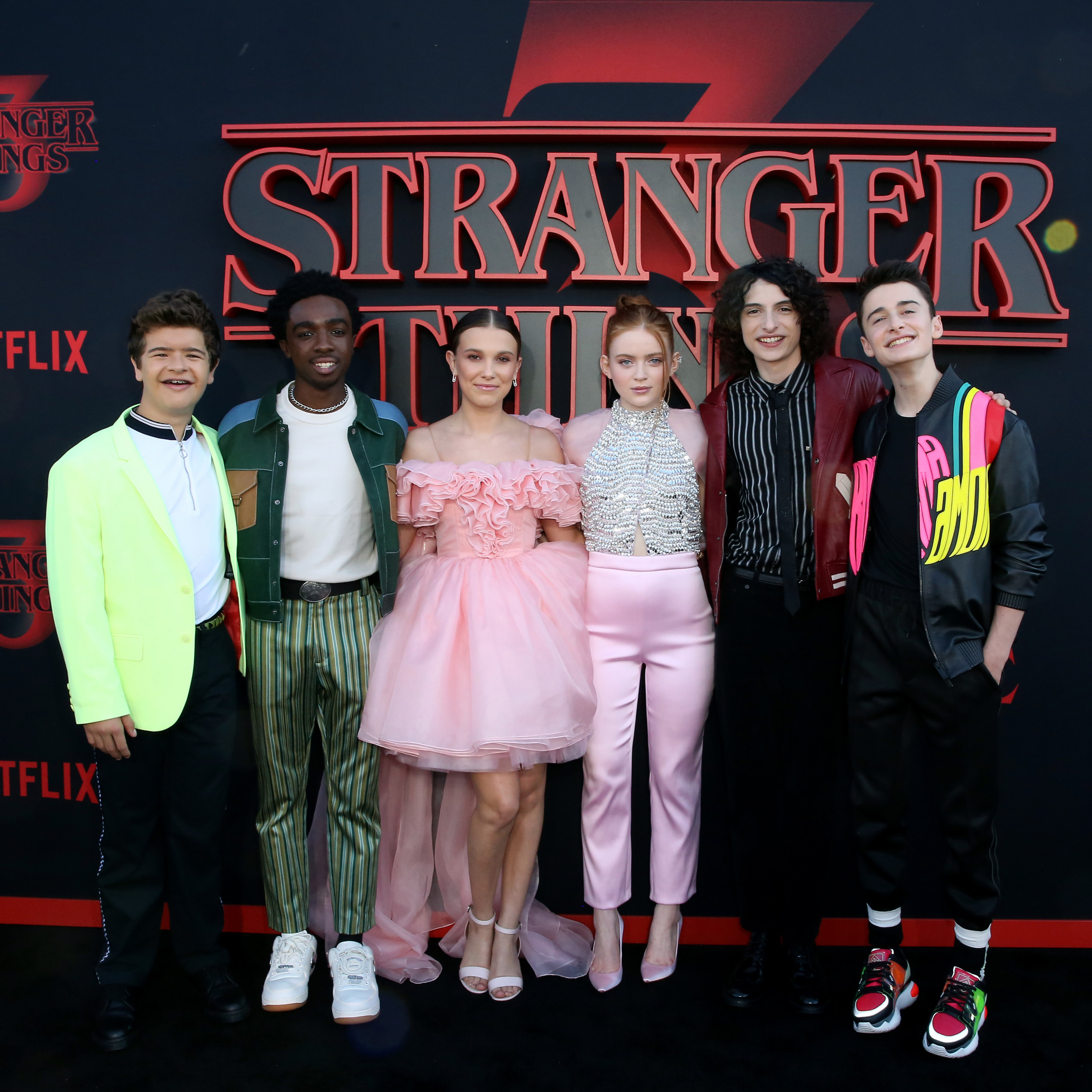 Image result for stranger things season 3 full cast