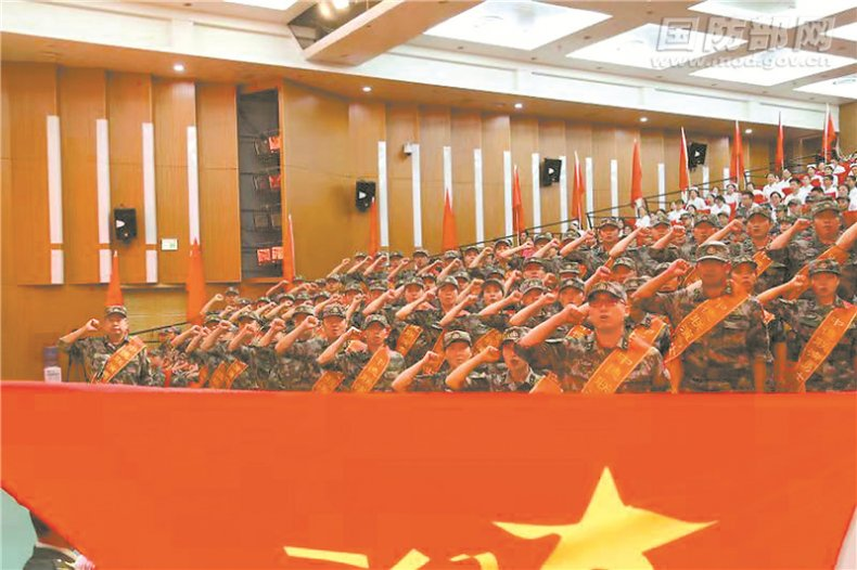 china medical germany military training