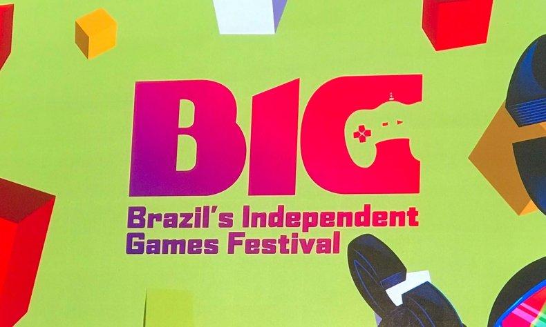 Brazil BIG Festival Awards Ceremony Backdrop 2019