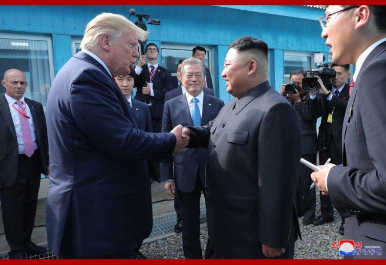 trump kim moon north korea