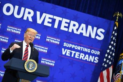 Veterans Donald Trump July 4