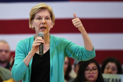 Elizabeth Warren, Donald Trump, Fourth of July