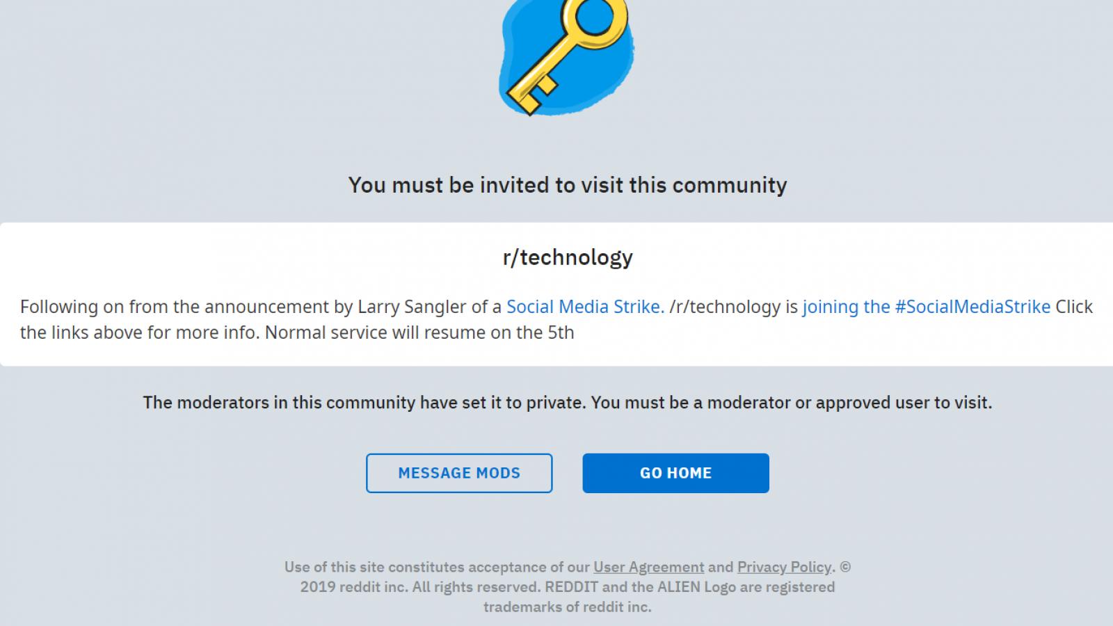 What is #SocialMediaStrike? Reddit Tech Joins Protest Against