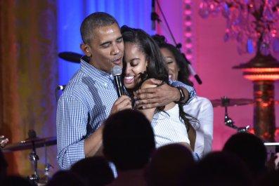 barack obama malia obama birthday independence day