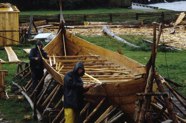 Viking Burial Ships Uncovered in 'Sensational' Archaeological Find