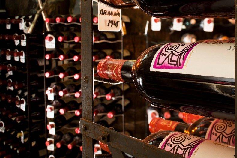 wine bottles restaurant stolen maison rostang