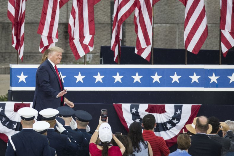 Donald Trump Fourth of July address