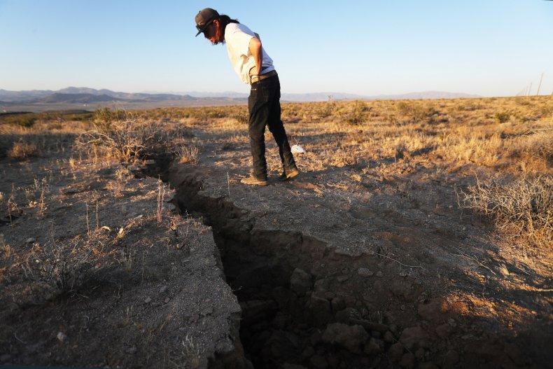 California earthquake Ridgecrest