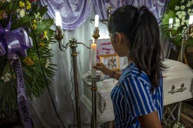 Philippines Duterte drugs war toddler killed