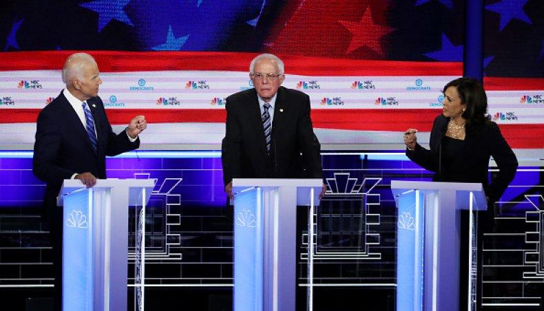 kamala harris joe biden first democratic debate