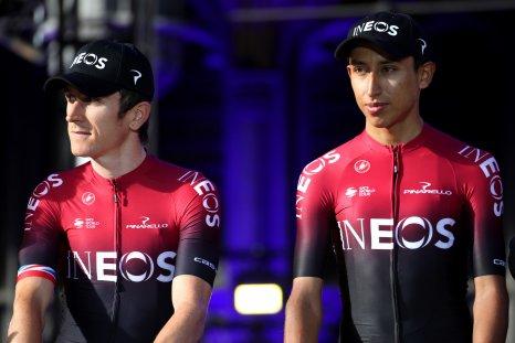 Geraint Thomas, Egan Bernal, Tour de France