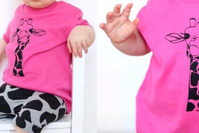 pink boy baby shirt