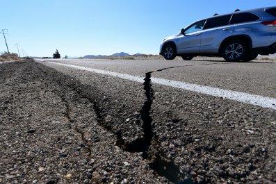 California, earthquake, 7.1., tremor