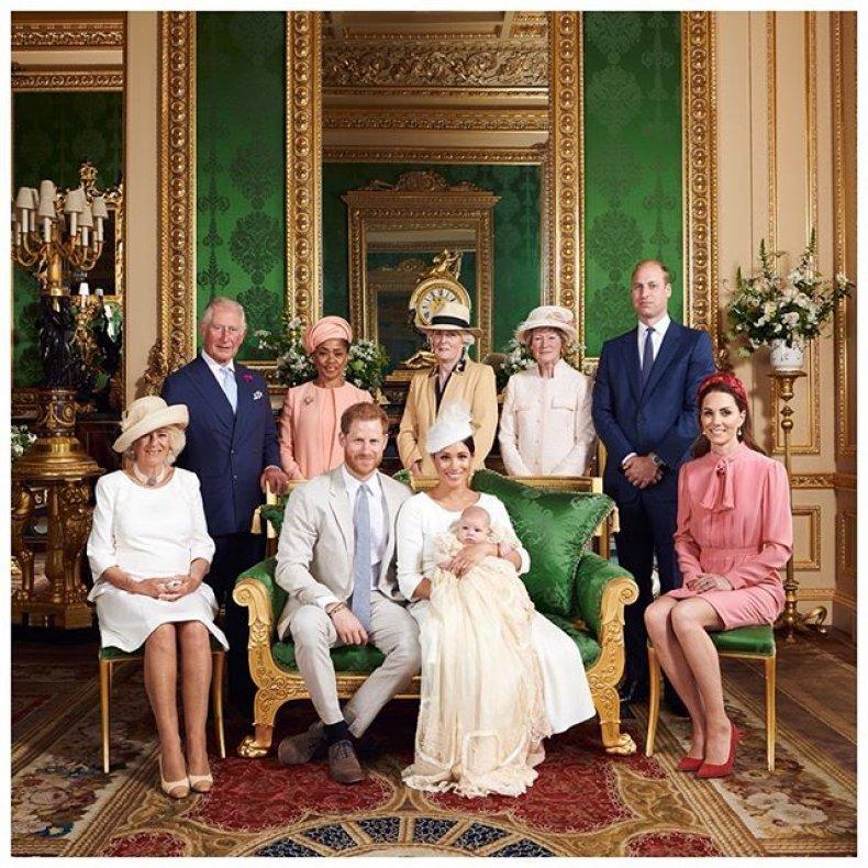 Royal Baby Christening Windsor