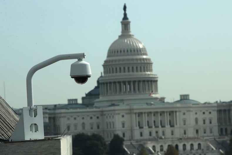 U.S. Capitaol, surveillance camera