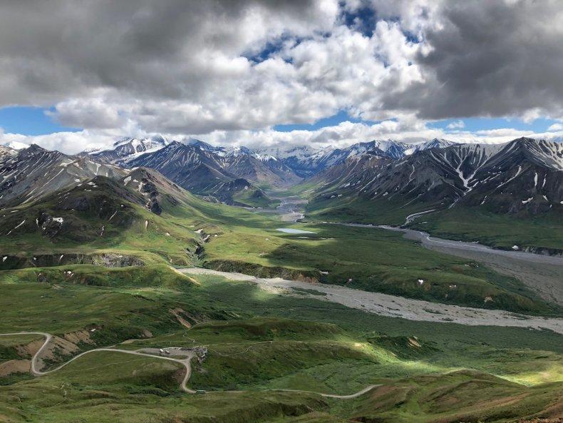 Denali National Park, Alaska, tundra, permafrost,