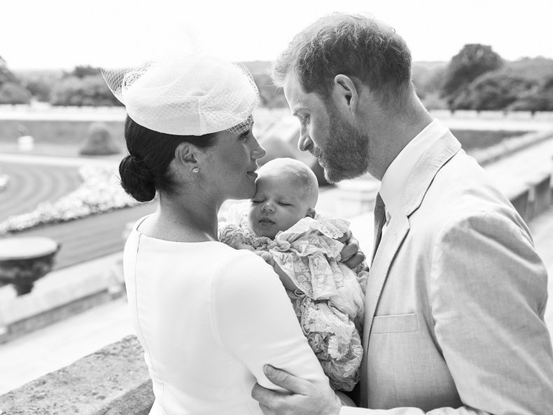 Baby Archie, Meghan Markle