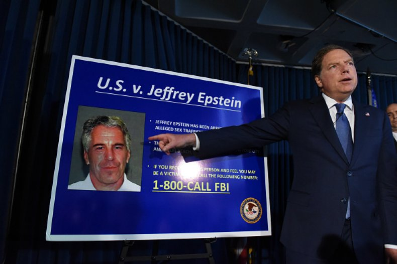 us attorney SDNY jeffrey epstein charges