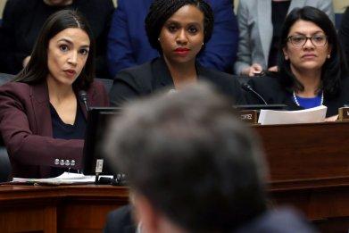 Ocasio-Cortez, Pressley, Tlaib in Congress