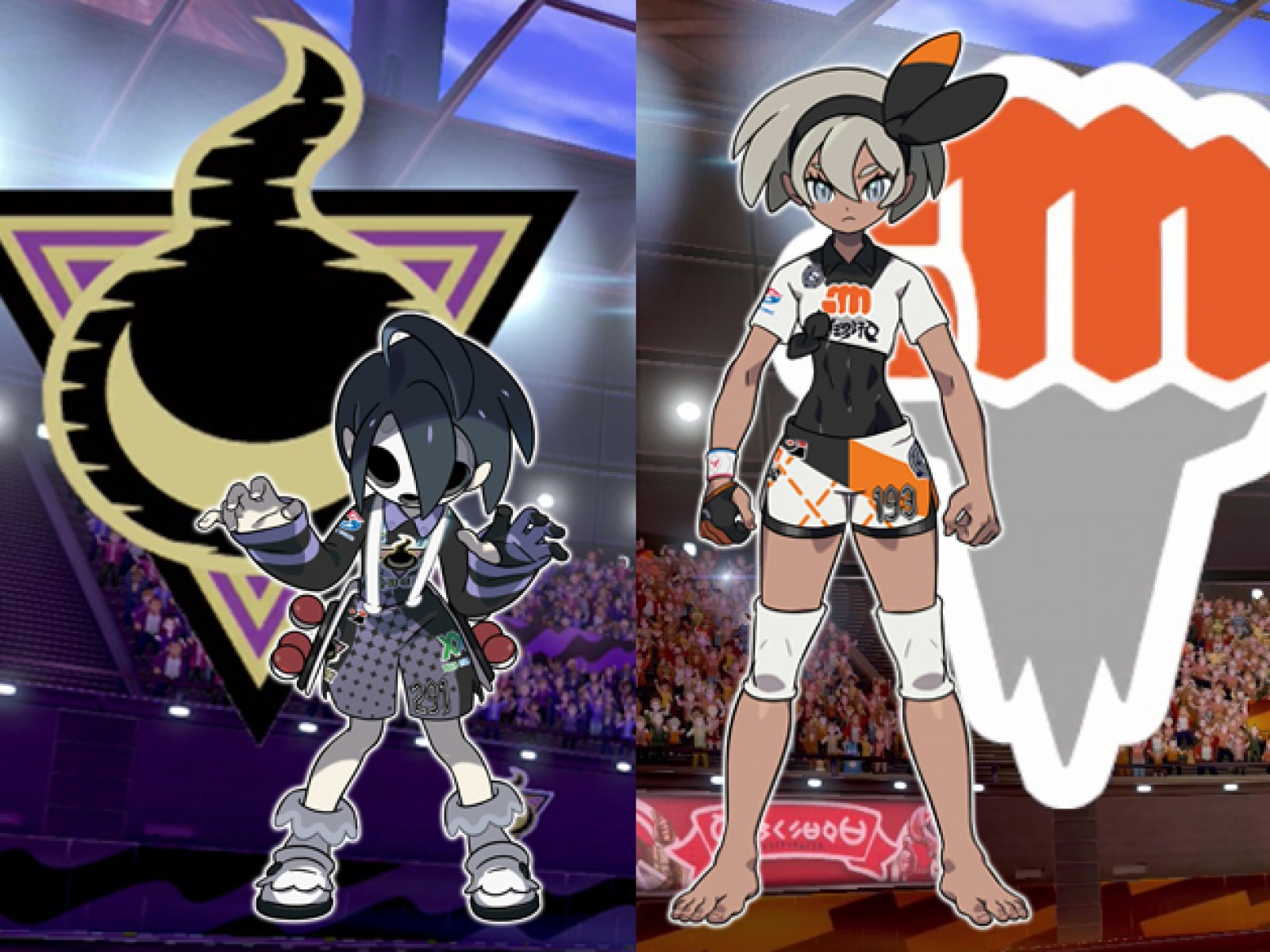 Pokemon Sword And Shield Version Exclusives Gym Leaders And