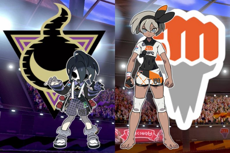 pokemon sword shield version exclusive gym leaders