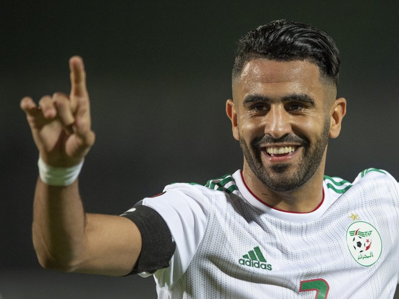 Riyad Mahrez, Africa Cup of Nations